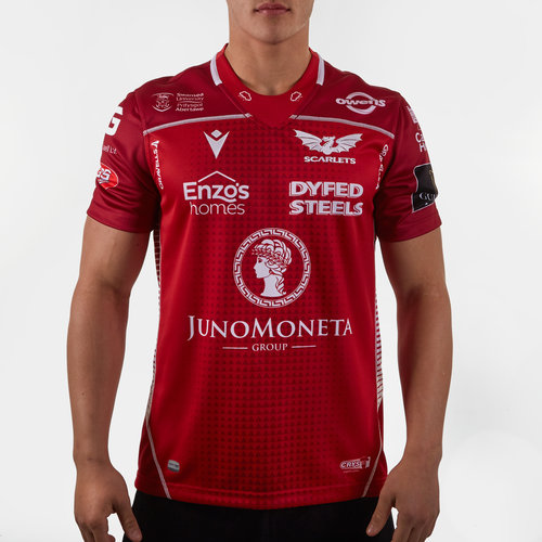 Camiseta Replica de Rugby de los Scarlets Local 2019/2020