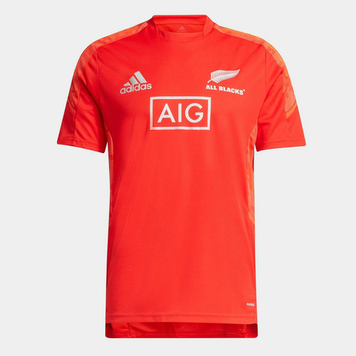 New Zealand Rugby All Blacks Performance Training Top Mens