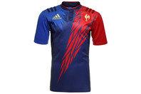 adidas Francia 7s 2014/15 Home M/C Réplica - Camiseta de Rugby