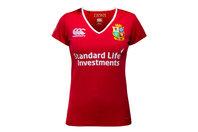 Canterbury British & Irish Lions 2017 Mujer Match Day Pro M/C - Camiseta de Rugby