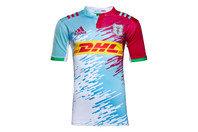 adidas Harlequins 2016/17 Alternativa M/C Réplica - Camiseta de Rugby