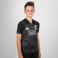 adidas Nueva Zelanda Maori All Blacks 2017 Niños M/C - Camiseta de Rugby