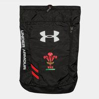 Under Armour Gales WRU 2017/19 Trance Rugby - Bolsa de Gimnasio