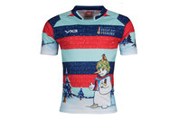 VX-3 Help For Heroes Navidad 2017 Niños Snowman Charity - Camiseta de Rugby