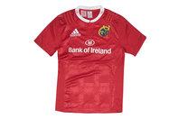 adidas Munster 2015/16 Home Jóvenes M/C Réplica - Camiseta de Rugby